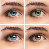 Set of women's Eyes