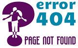 web page error 404