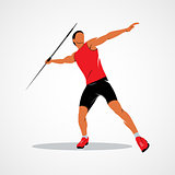Javelin throw Athlete
