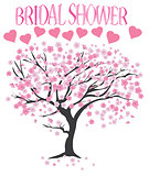 vector bridal shower