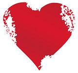 Vector Grunge Heart