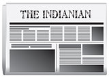 Newspaper The Indianian