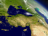 Turkey from space