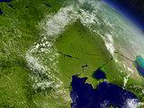 Ukraine from space