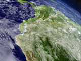 Ecuador from space