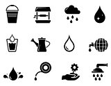 watering black icon