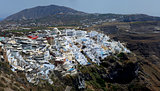 Thira Town on Santorini