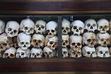 Skulls at Genocidal Center near Phnom Penh