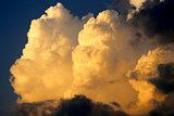 Clouds on a beautiful sky