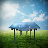 Solar panel renewable energy