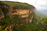 Scenery in the Blue Mountains, Australia.