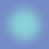 Blue pop art retro background with light effect