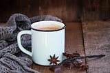 Hot Cocoa or Coffee with Chocolate and Spices