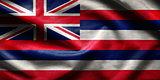 US state flag of Hawaii