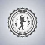 Sport logo, vector illustration.