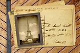 Vintage photo and post card