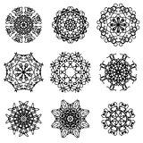 Round Ornamental Geometric  Pattern.