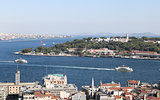 Karakoy and Topkapi Palace in Istanbul City