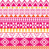 Seamless Navajo print, Aztec pattern, Tribal design