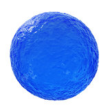 Ocean blue sphere
