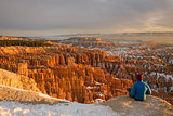 Early Morning in the Bryce Canyon, Utah