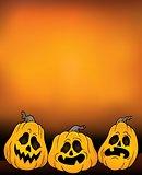 Halloween pumpkins theme image 4