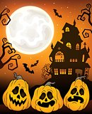 Halloween pumpkins theme image 5
