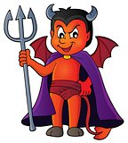 Little devil theme image 1