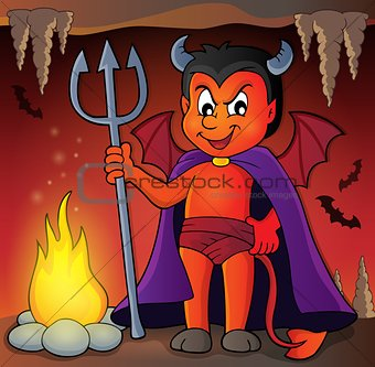 Little devil theme image 3