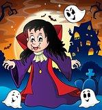 Vampire girl theme image 3