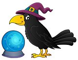 Witch crow theme image 1