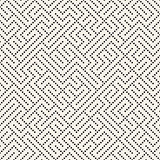 Vector Seamless Black and White Dotted Irregular Maze Perforation Pattern