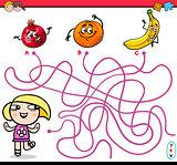 path maze activity for kids