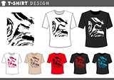 t shirt abstract design