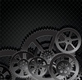 gears dark blue 01black