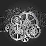 gears mechanical steel