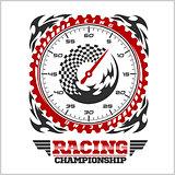 Racing Championship emblem.
