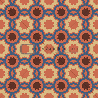 Art abstract geometric seamless pattern