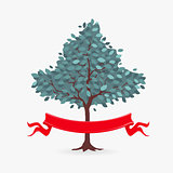 Vector Symbol Tree and ribbon