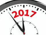 Clock dial 2017