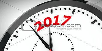 Clock dial 2017 #2