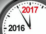 Clock dial 2016-2017