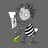 Doodle cartoon artist