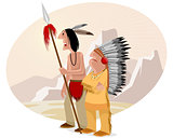 Indian and chief