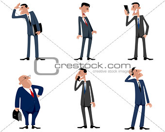 Six businessmen set