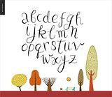 Script alphabet 2