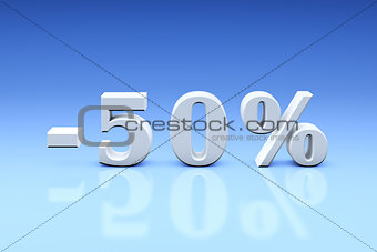 -50% Significant discounts for the goods and services. Dumping