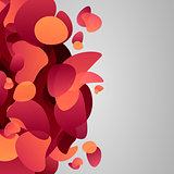 Abstract splash background.