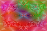 Geometric coloring background