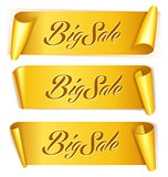 Gold ribbon set